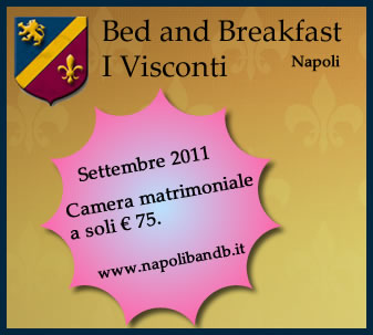 Offerta Bed and breakfast Napoli