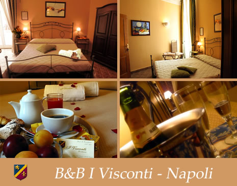Bed and breakfast napoli i visconti b b napoli centro for A bed and breakfast